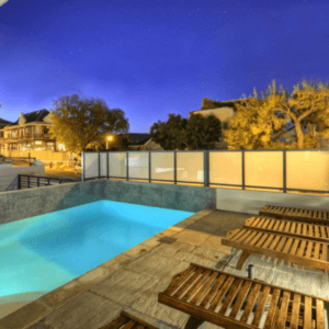 4 Star B&B Cape Town Pool at Night
