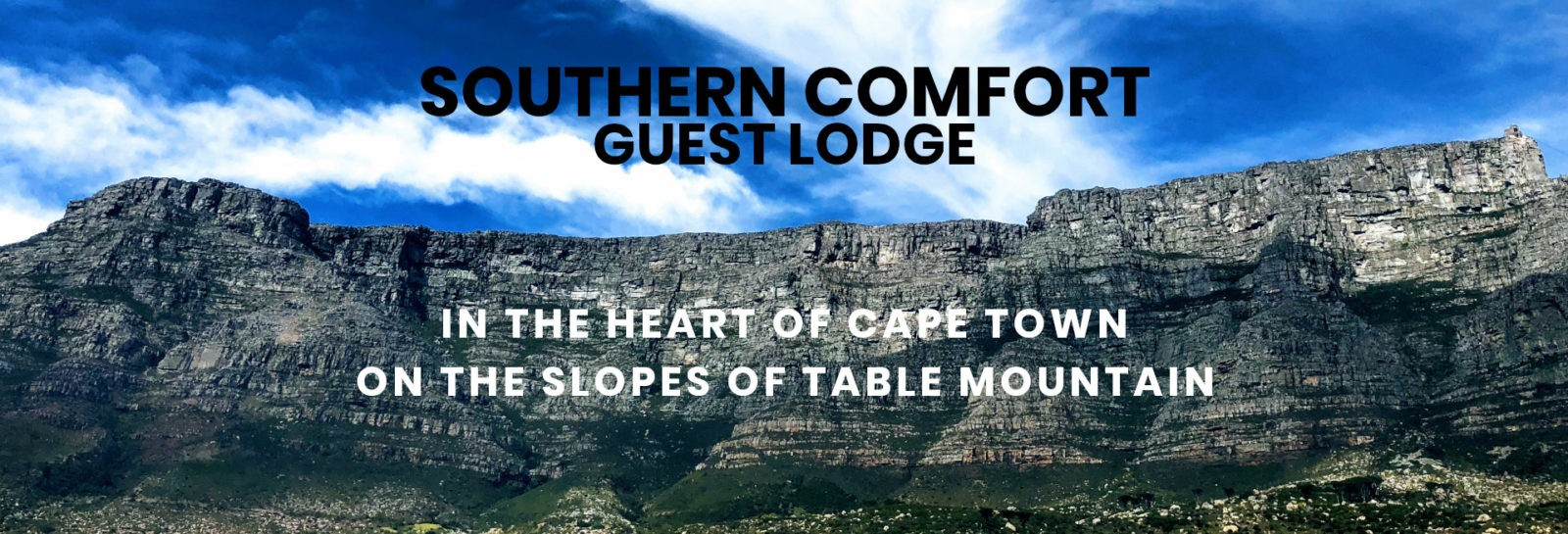 Southern Comfort Guest Lodge. Cape Town, South Africa.